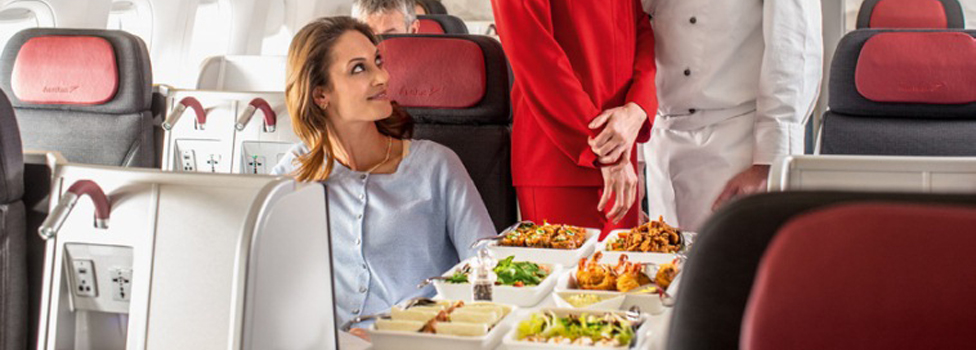 Austrian Airlines Business Class Service