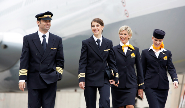 The Lufthansa Crew Provide Award Winning Service